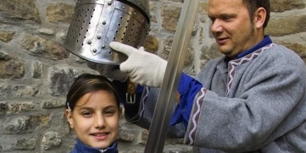 Photo of Als Ritter im Wasserschloss Werdringen