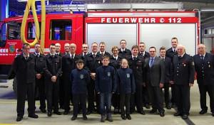 Jahresdienstbesprechung des Löschzuges 2 der Feuerwehr Lennestadt