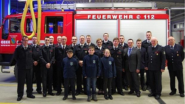 Photo of Jahresdienstbesprechung des Löschzuges 2 der Feuerwehr Lennestadt