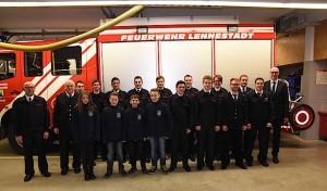 Feuerwehr Lennestadt: Jahresdienstbesprechung des Löschzuges 4