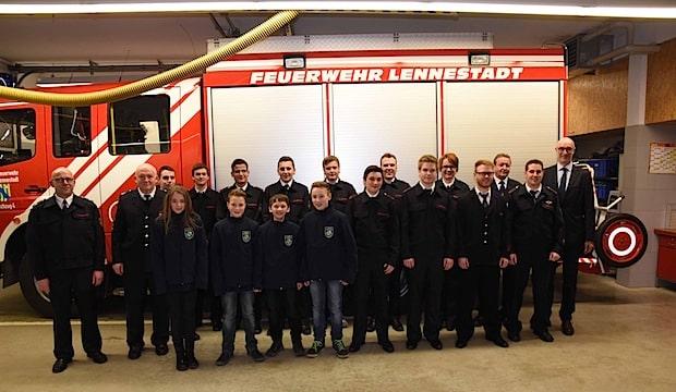 Photo of Feuerwehr Lennestadt: Jahresdienstbesprechung des Löschzuges 4