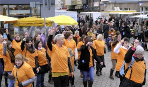 """One Billion Rising"" erstmals in Iserlohn"