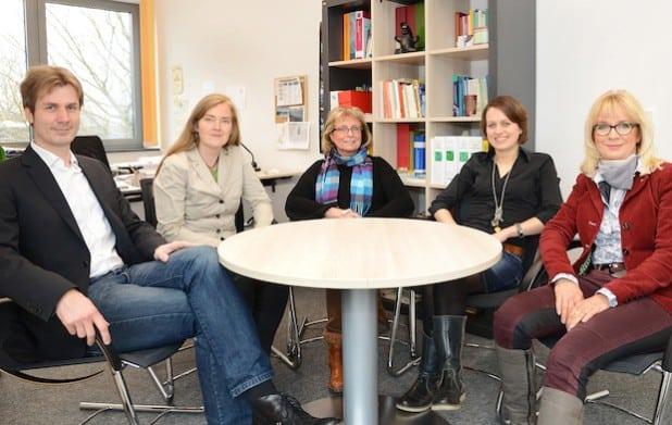 Das Team der Schulpsychologischen Beratungsstelle ist für die Schüler, Eltern und Schulen im gesamten Kreisgebiet im Einsatz (Foto: Thomas Weinstock/Kreis Soest).