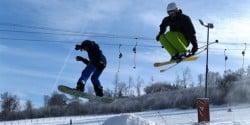 <b>Skihang und Skilift am Poppenberg in Brilon geöffnet</b>