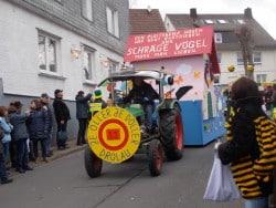 Archivfoto: Altweiberumzug Drolshagen 2014. Foto: Niklas Rüsche.