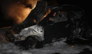 Hagen: Fahrzeug komplett ausgebrannt