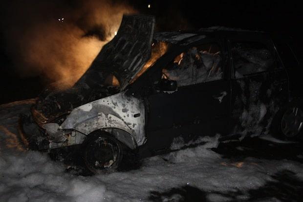 Photo of Hagen: Fahrzeug komplett ausgebrannt