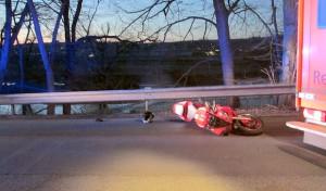 Wickede-Echthausen: Motorradfahrer prallt gegen Reh