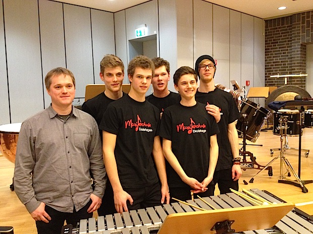 Photo of Percussion-Ensemble der Musikschule Drolshagen beim Bundeswettbewerb