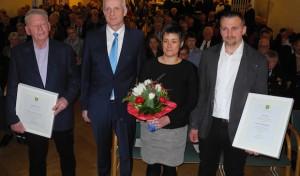 Volles Burbacher Bürgerhaus beim Jahresempfang