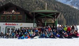 Gemeinschaftsschule Burbach unterwegs im Schnee