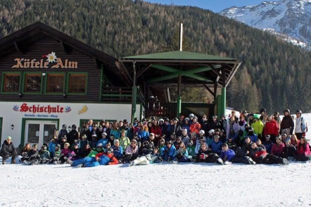 Eine Skiwoche in Mallnitz/Kärnten verbrachte jetzt die Gemeinschaftsschule Burbach (Foto: Gemeinde Burbach).