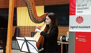 """""""Jugend musiziert"""": Dankeschön-Konzert in der Sparkasse Hagen"""