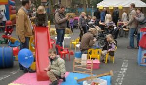 Spiel & Spaß auf dem Poststraßen-Parkplatz