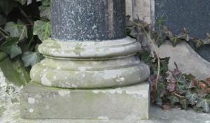 Wiederaufbau von Friedhofsdenkmal möglich