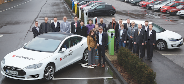 Photo of Innovationsnetzwerk Elektromobile Stadt tagte bei Mennekes