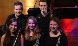 """Holzbläserquintett """"Molto Vento"""" im Kammerkonzert der Musikschule Iserlohn"""