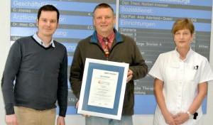 Re-Zertifizierung bestanden: St. Franziskus-Hospital bietet hohe Qualität