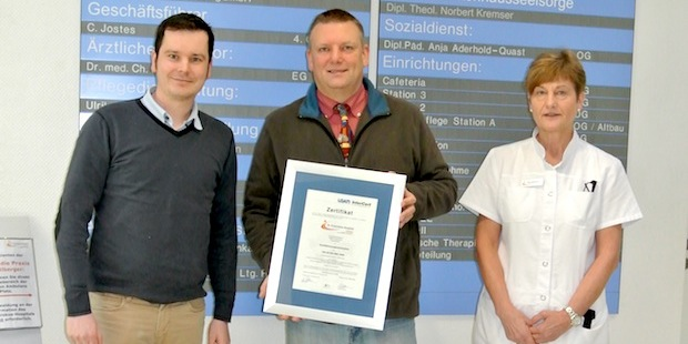 Photo of Re-Zertifizierung bestanden: St. Franziskus-Hospital bietet hohe Qualität