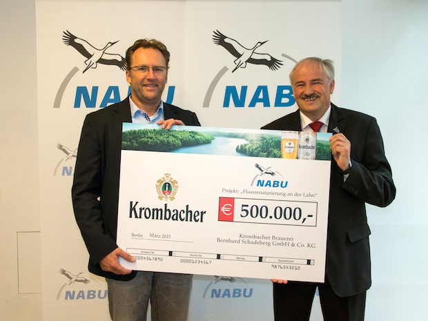 Photo of Krombacher spendet für den Naturschutz