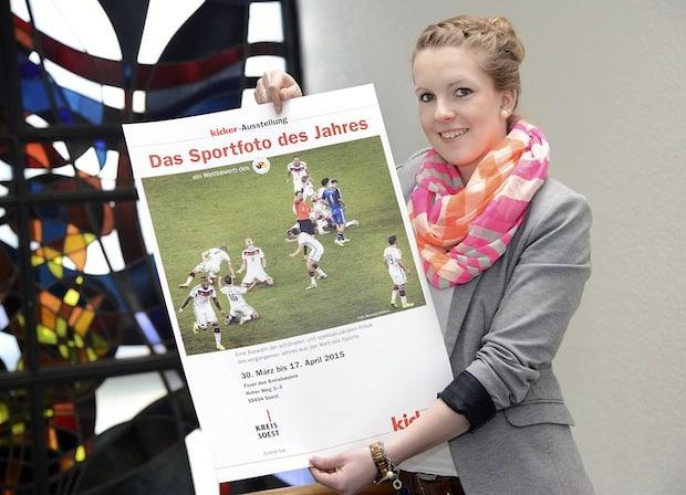 """Photo of """"Sportfoto des Jahres"""" im Soester Kreishaus"""