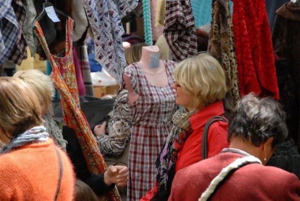 Der Stoff- und Tuchmarkt in Soest (Foto: Wirtschaft & Marketing Soest GmbH)