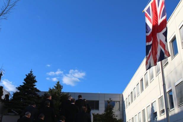 Foto: Herrliches Wetter begrüßte die Besucher auf dem Firmengelände der EMG Automation GmbH.