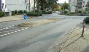 """Barrierefreie Fußgängerüberwege am Kreisverkehr """"Niederstes Tor"""""""