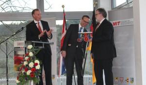 EMG Automation GmbH in Wenden empfing britischen Botschafter