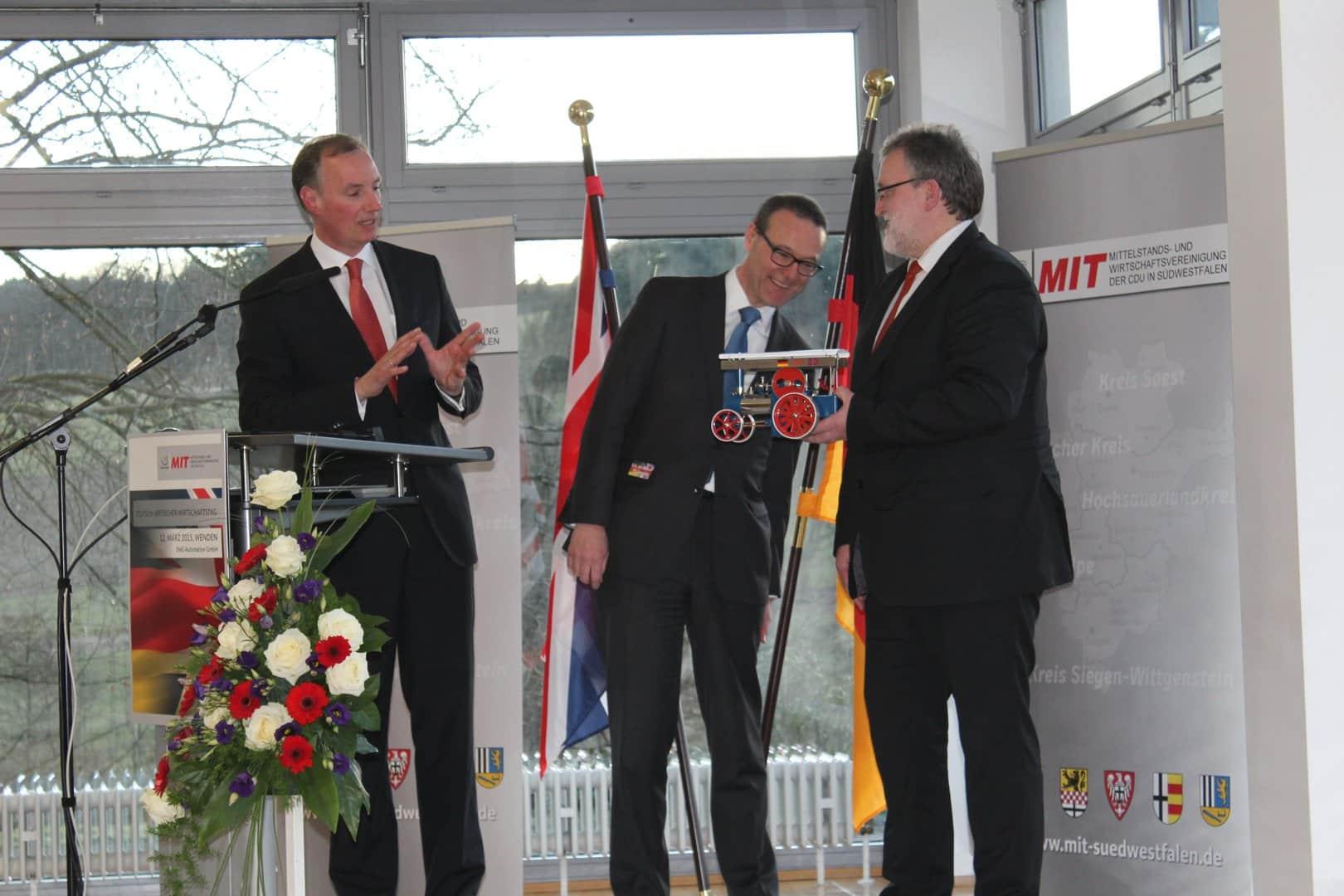Photo of EMG Automation GmbH in Wenden empfing britischen Botschafter