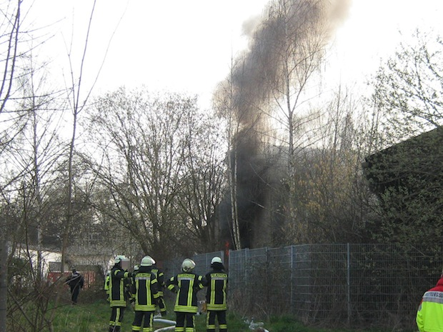 Photo of Werl: Brand in altem Industriegebäude