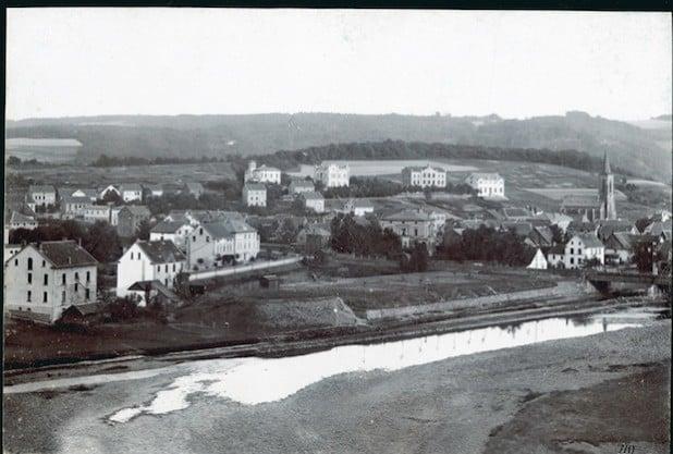 Werdohl und sein Villenviertel im Jahr 1898 (Foto: Kreisarchiv).