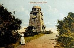 <b>100 Jahre Bismarckturm - ein Iserlohner Denkmal erstrahlt elf Tage später</b>