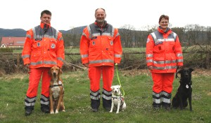 Rettungshunde fit für den Einsatz