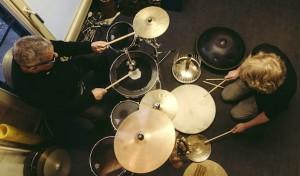 Percussion-Duo Liebezeit/Mertin in der Stadthalle Olpe