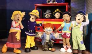 Feuerwehrmann Sam am 23.09.2015 in der Siegerlandhalle