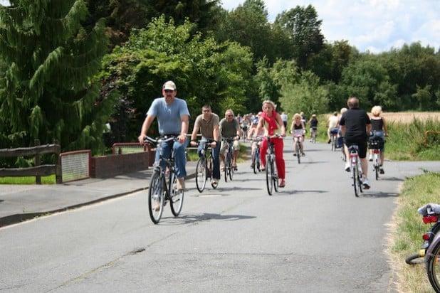 Fahrradfahren in der Soester Börde (Foto: Wirtschaft & Marketing Soest GmbH)