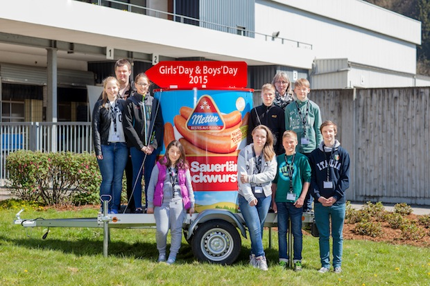 Photo of Girls' und Boys' Day 2015 bei Metten