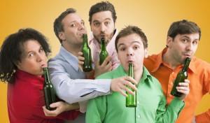 GlasBlasSingQuartett: Männer, Flaschen, Sensationen
