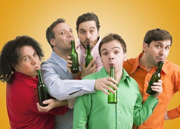 Photo of GlasBlasSingQuartett: Männer, Flaschen, Sensationen