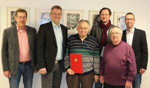 Josef Jackisch: 60-jähriges Parteijubiläum festlich begangen