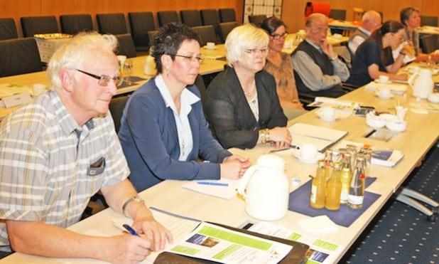 Holten sich viele Anregungen für eigene Events - Teilnehmer der Info-Veranstaltung (Foto: Hendrik Klein/Märkischer Kreis).