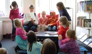 Bad Berleburg: Lesepaten in der Stadtbücherei