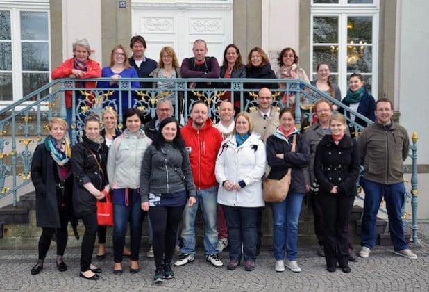 """Im COMENIUS-Projekt """"Health"""" haben zwei Jahre lang Lehrer und Schüler aus Schweden, Finnland, Polen, Belgien, den Niederlanden, Italien und Deutschland zusammengearbeitet (Foto: Stadt Lippstadt)."""