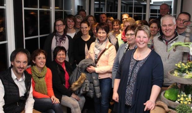 Die Gastgeber der Kooperation Schmallenberger Kinderland (Foto: Katja Lutter).