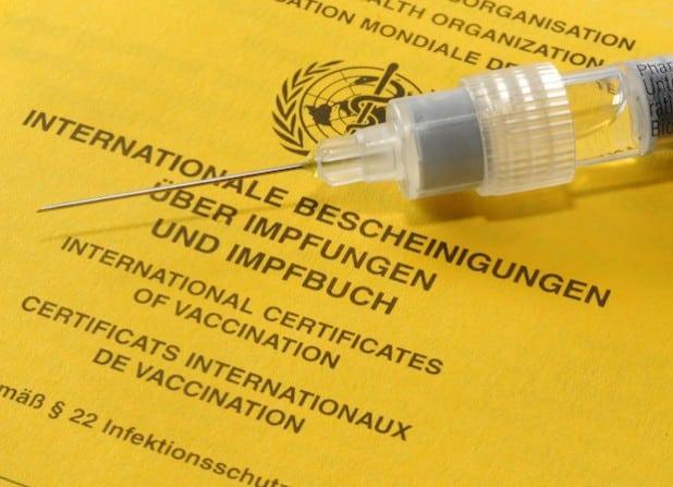 Der Blick ins Impfbuch offenbart Impflücken schnell (Foto: Thomas Weinstock/Kreis Soest).