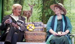 Doris Kunstmann und Peter Fricke gastieren mit Liebeskomödie in Wilnsdorf