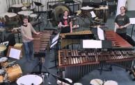 """Sonderkonzert """"4 Schlagzeuger – 30 Instrumente"""" in der Oberen Mühle"""