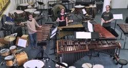 <b>Sonderkonzert &quot;4 Schlagzeuger – 30 Instrumente&quot; in der Oberen Mühle</b>