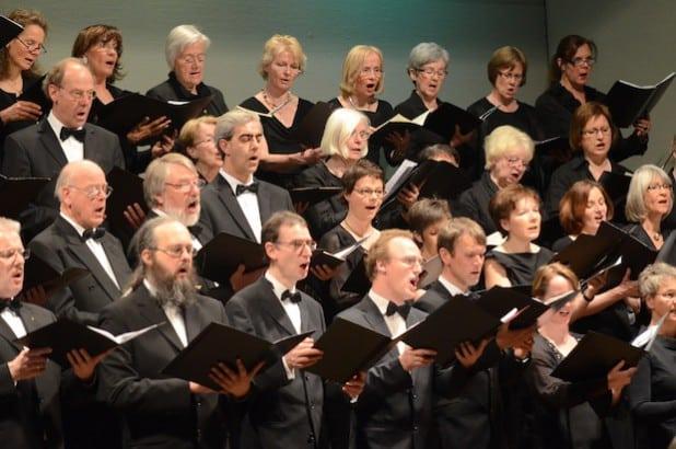 Konzertchor Lippstadt (Foto: Tuschen)
